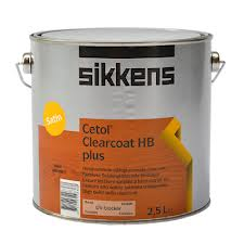 Cetol Clearcoat HB plus verfverkoop
